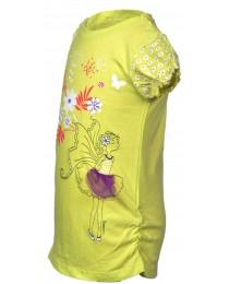 Lemon Girl Flowered Top